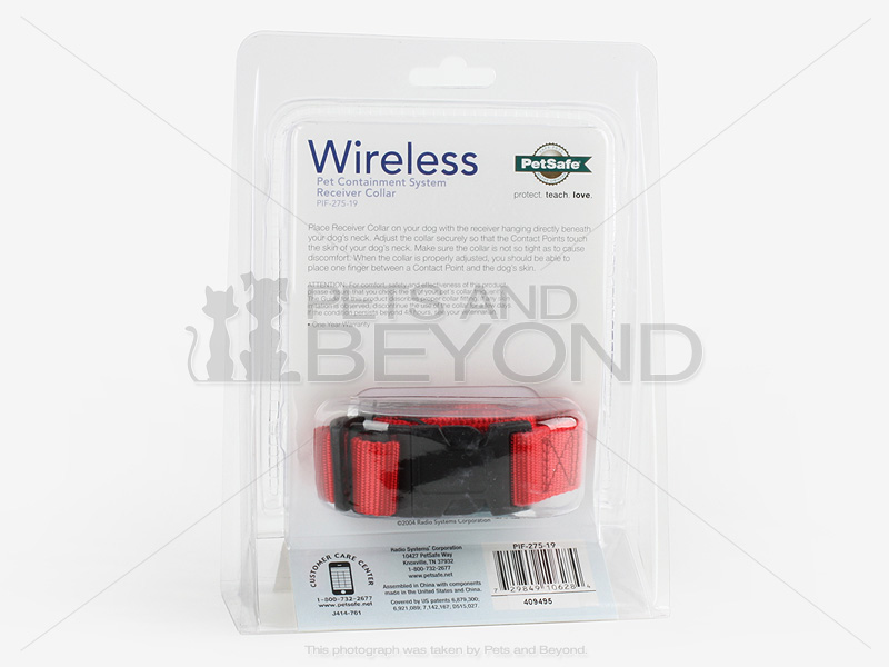 Petsafe Pif 275 19 Wireless Dog Fence Receiver Collar For
