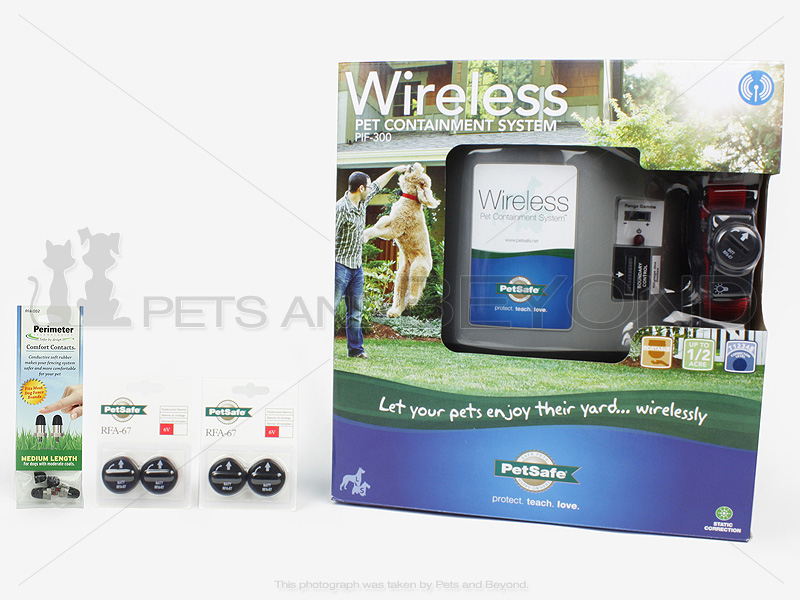 Wireless Electric Pet Fence 187 Fencing