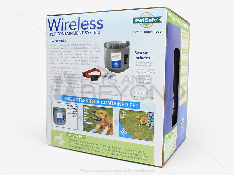 petsafe wireless containment system instructions